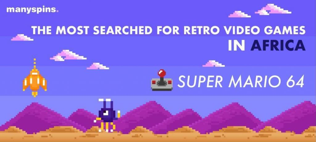 The Most Searched For Retro Video Games In Africa