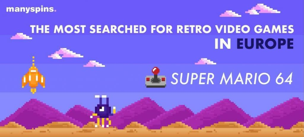 Most Searched For Retro Video Games In Europe
