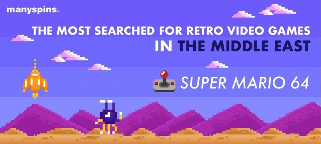 The Most Searched For Retro Video Games In The Middle East