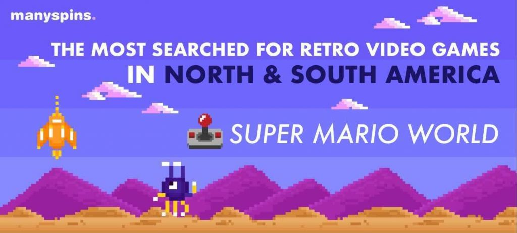 Most Searched For Retro Vidoe Games In North And South America